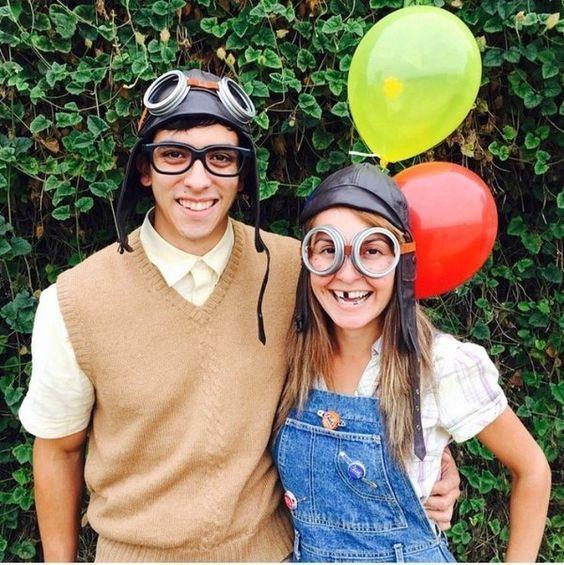 Carl and Ellie Costume.