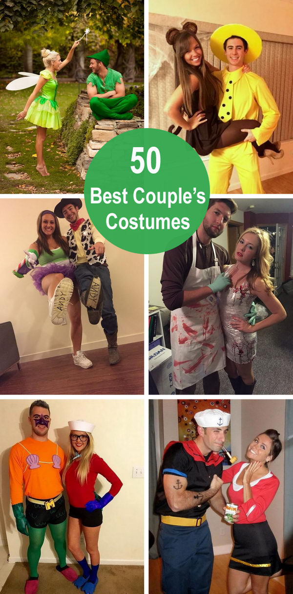 50+ Best Couple's Costumes.