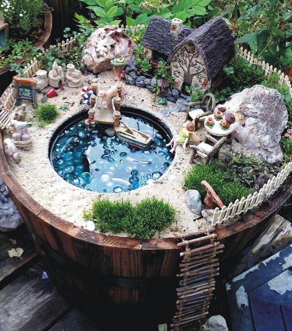 Fairy's Lakeside Cottage.