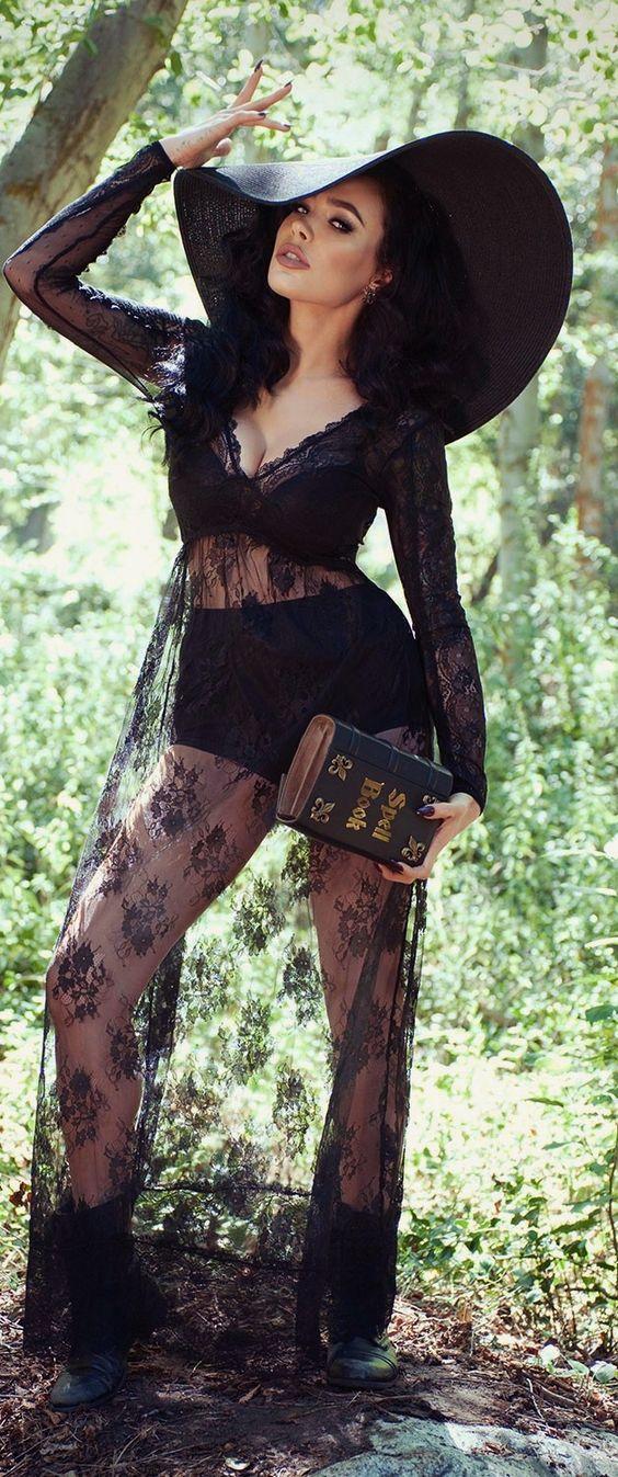 sexy witch costume