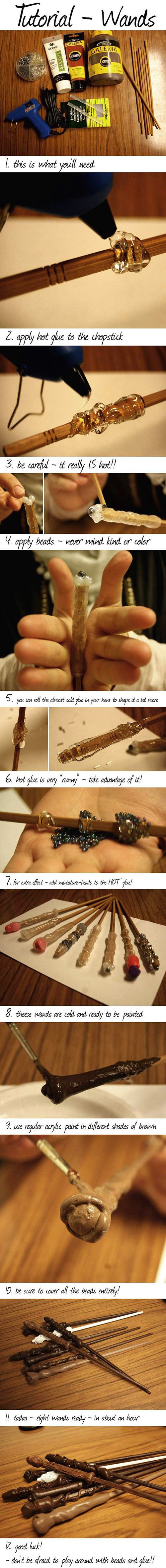 DIY Magic Wand.